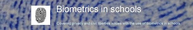 Biometrics in schools